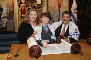 JC1 04551 300x199 Josh Ulllmans Bar Mitzvah Temple Sinai